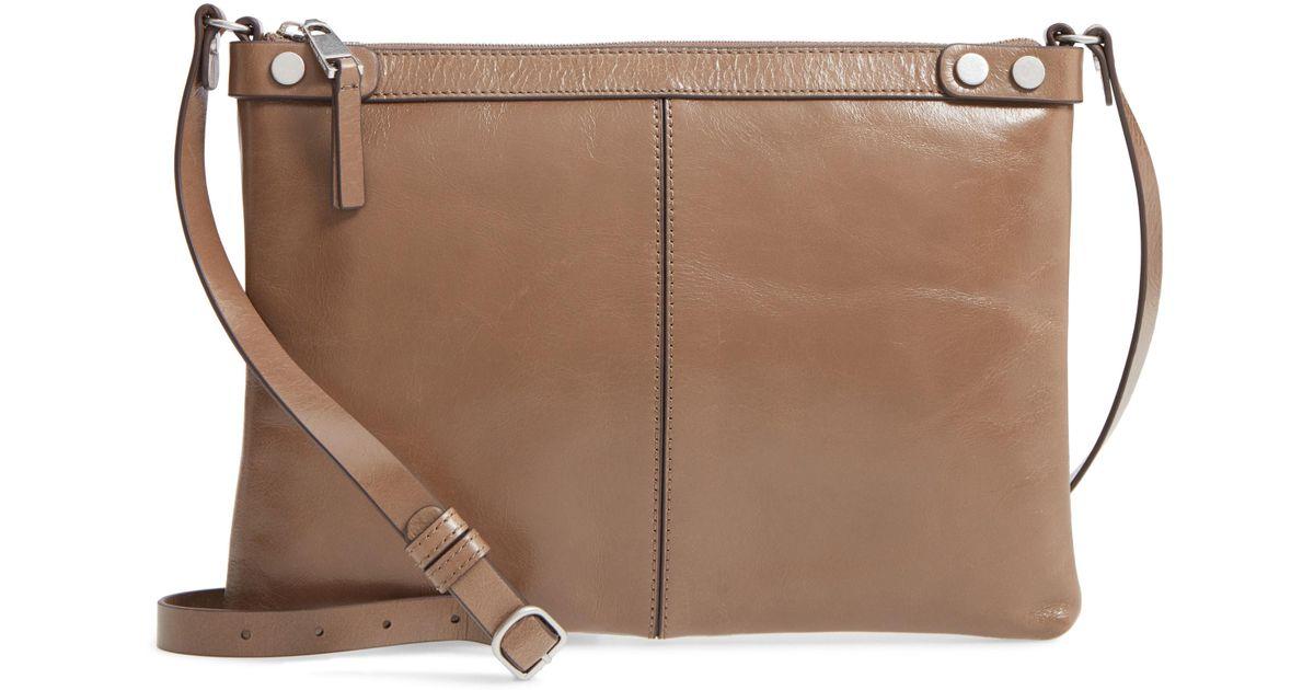 806ddcf7f497 Lyst - Treasure & Bond Marlow Glazed Leather Crossbody Bag - in Black