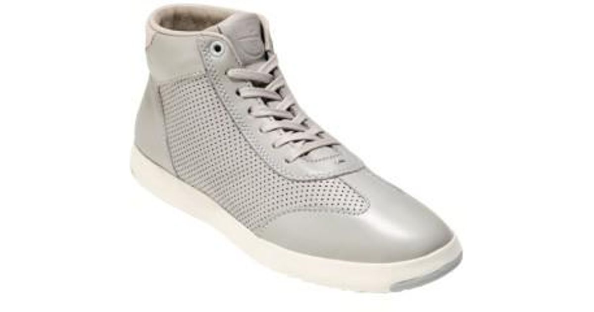Cole Haan Leather Grandpro High Top
