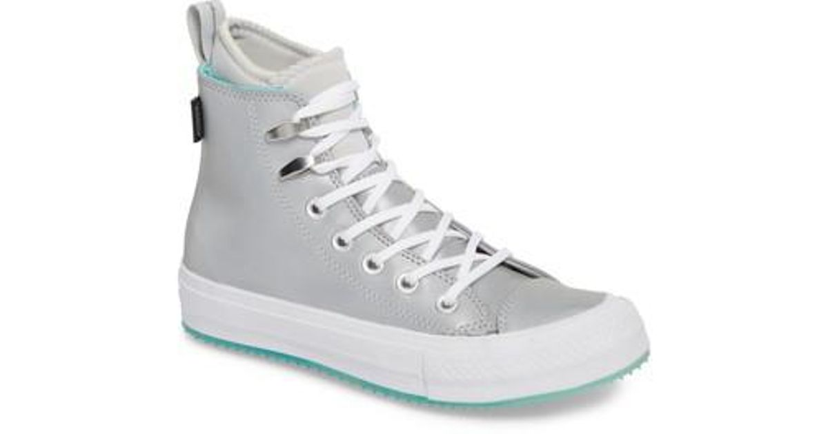 e9c12ffddc9 Lyst - Converse Ice Counter Climate Water Resistant High Top Sneaker in  White for Men