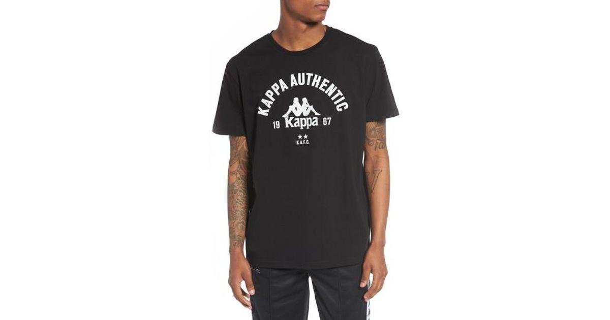0891f08216 Lyst - Kappa Capurro Slim-fit Cotton Tee in Black for Men