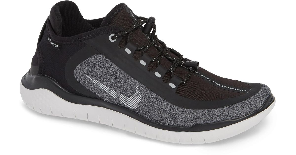 12b58d87452fa Lyst - Nike Free Rn 2018 Shield Water Repellent Running Shoe
