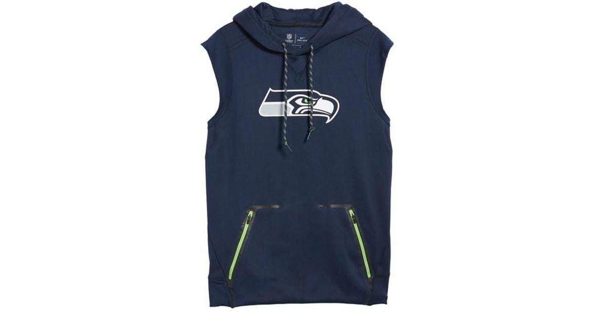 best sneakers 3b9e8 122c0 nfl sleeveless hoodie
