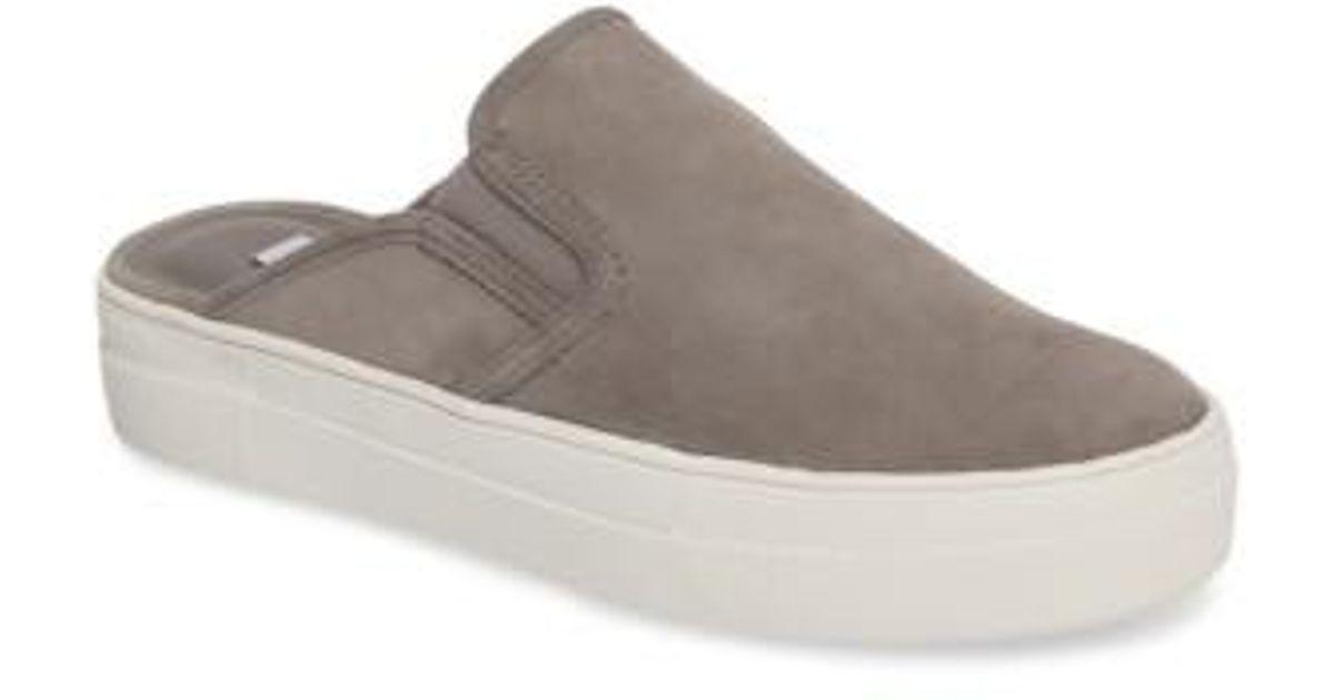 c074378ede1 Steve Madden Gray Glenda Sneaker Mule