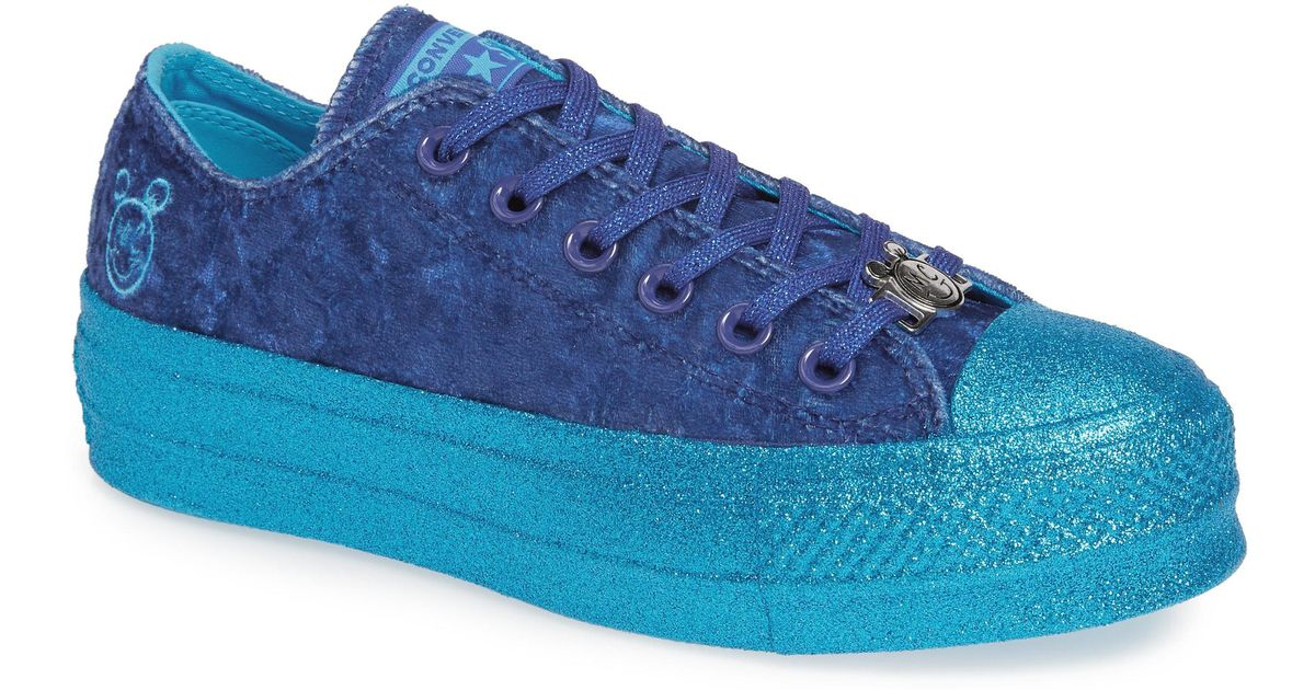 ba815210c00c Lyst - Converse X Miley Cyrus Chuck Taylor All-star Lo Sneaker in Blue
