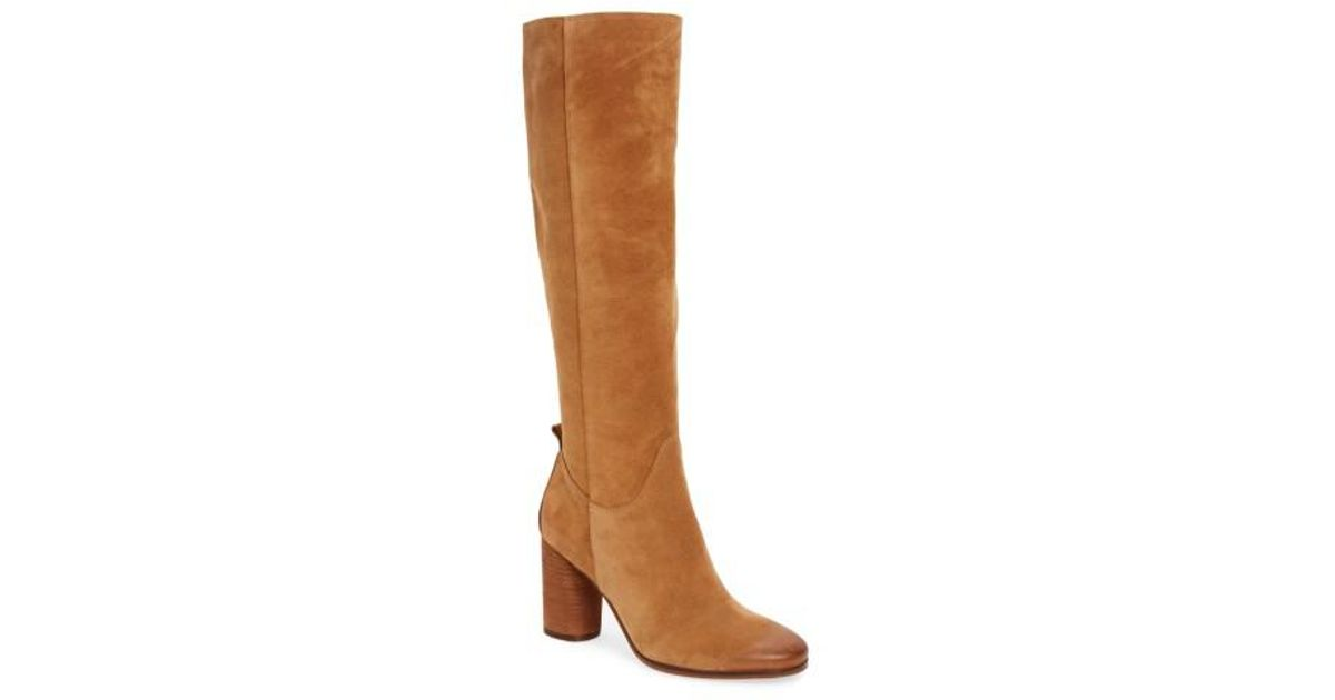3bbf89b7c Lyst - Sam Edelman Camellia Tall Boots in Brown