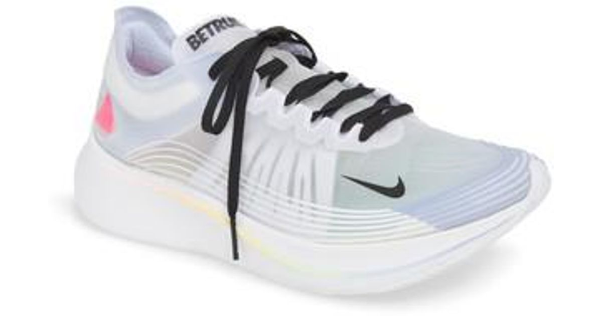 cc4ea85c0c0 Lyst - Nike Nordstrom X Zoom Fly Betrue Running Shoe in White for Men