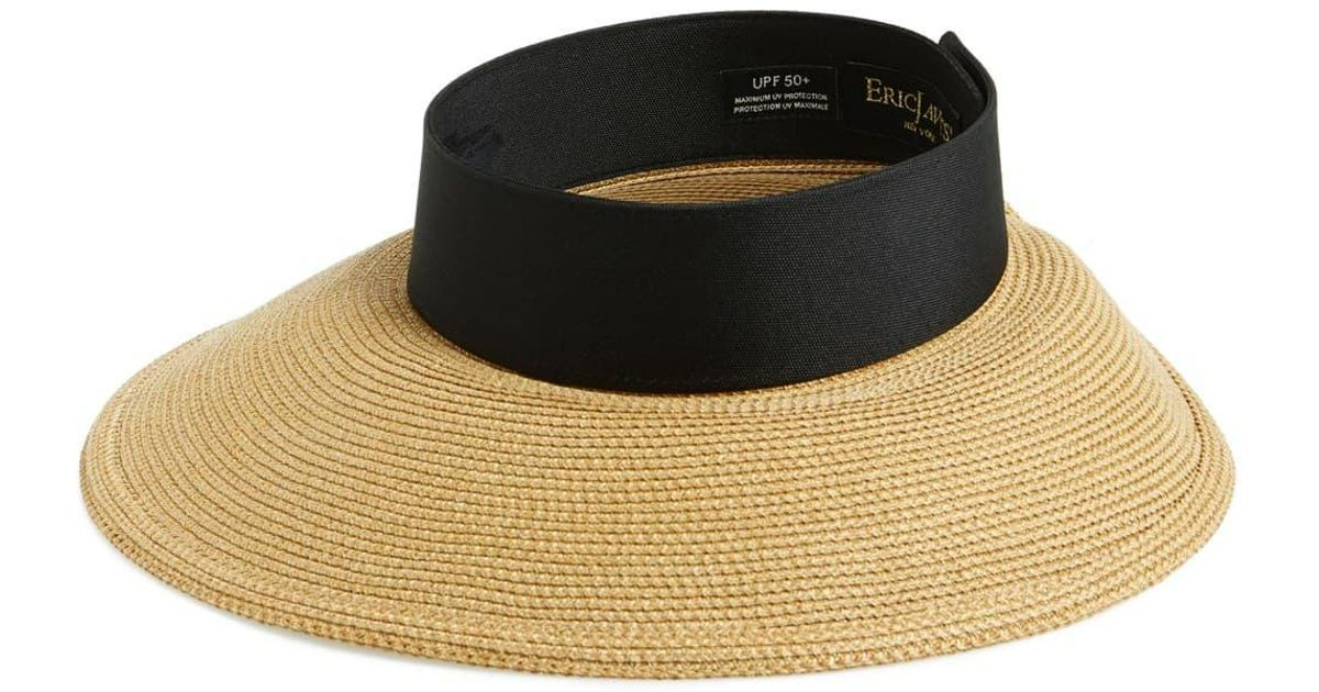 639e8d040c3b4b Eric Javits 'squishee Halo' Hat in Natural - Lyst