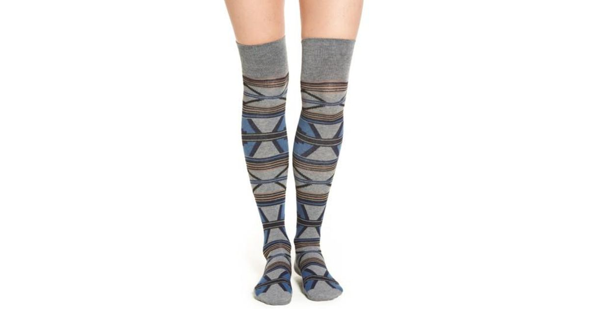 5d971c6479 Pendleton 'rio Canyon' Over The Knee Socks in Blue - Lyst