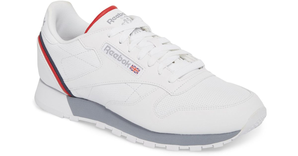 aca9461dda8 Lyst - Reebok Classic Leather Mu Sneaker in White for Men