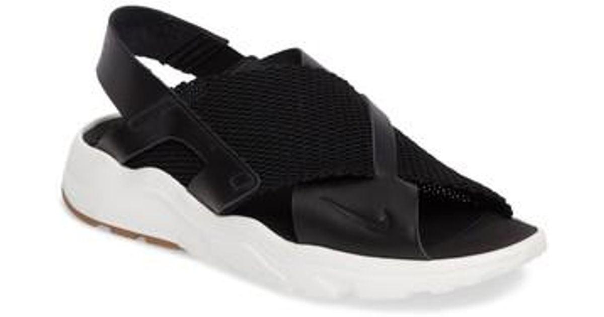 99155a7d4dcd Lyst - Nike Air Huarache Ultra Sport Sandal in Black