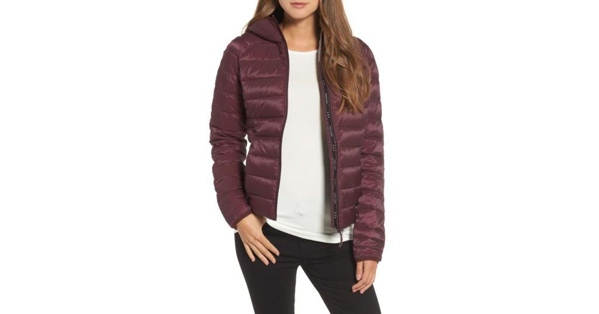 cae876af6a1a Lyst - Canada Goose  brookvale  Packable Hooded Quilted Down Jacket ...