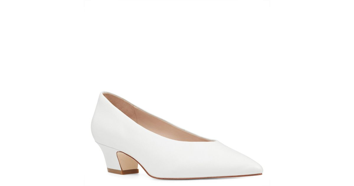 8181d1a509746 Nine West White Kendra - 40th Anniversary Capsule Collection Pump