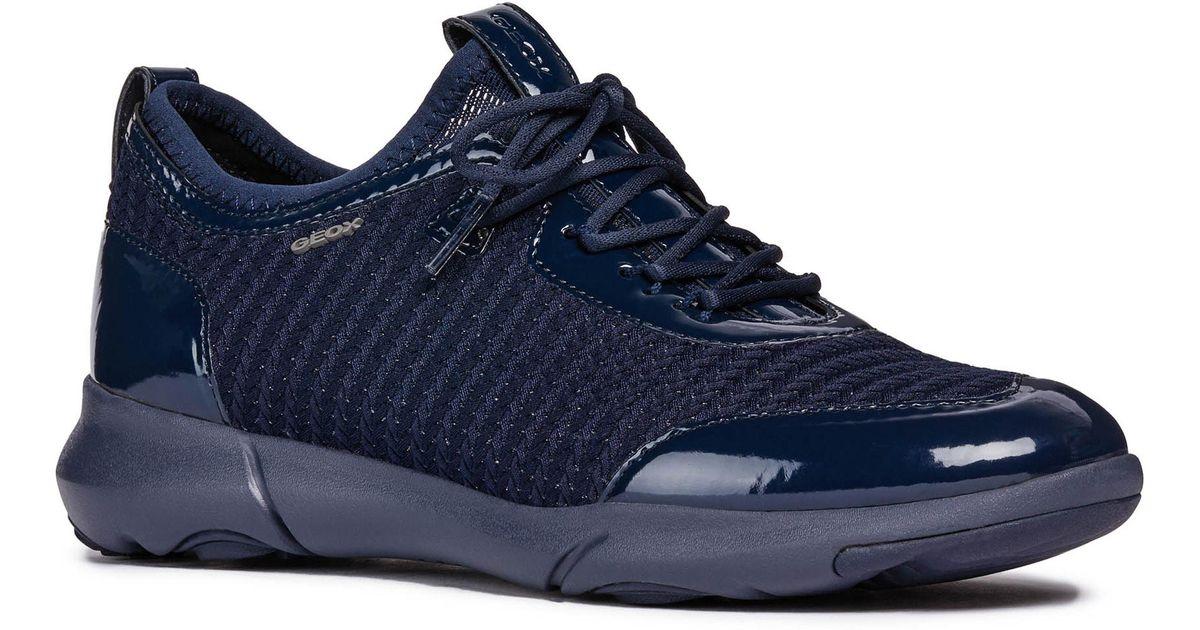 diseño exquisito disfruta el precio más bajo cupón doble Geox Nebula X Women's Shoes (trainers) In Multicolour in Blue - Lyst
