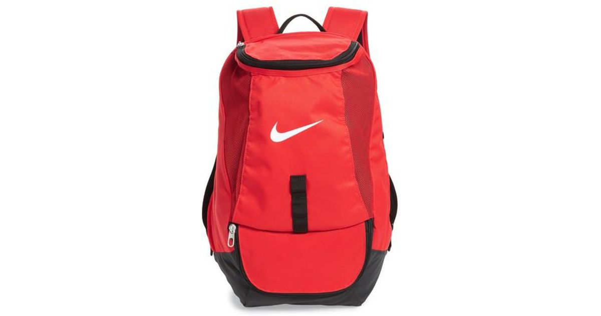 d12143d3ea Lyst - Nike Club Team Backpack in Red for Men