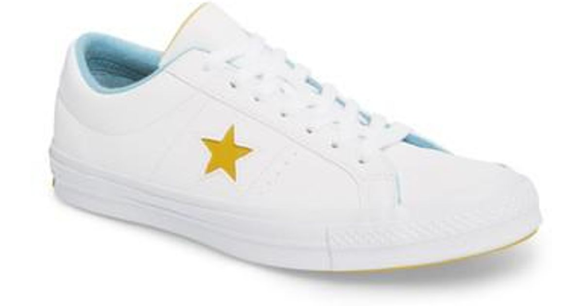 8bd62f5635b5 Lyst - Converse Chuck Taylor One Star Grand Slam Sneaker in White for Men