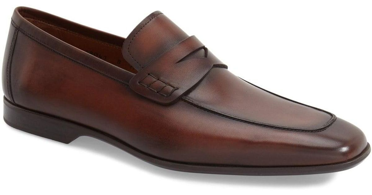 1baaad2afe7 Lyst - Magnanni  ramiro Ii  Penny Loafer in Brown for Men