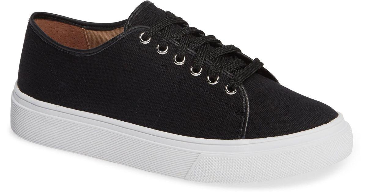 5ec859887d5 Lyst - Caslon Caslon Ethan Low-top Sneaker in Black