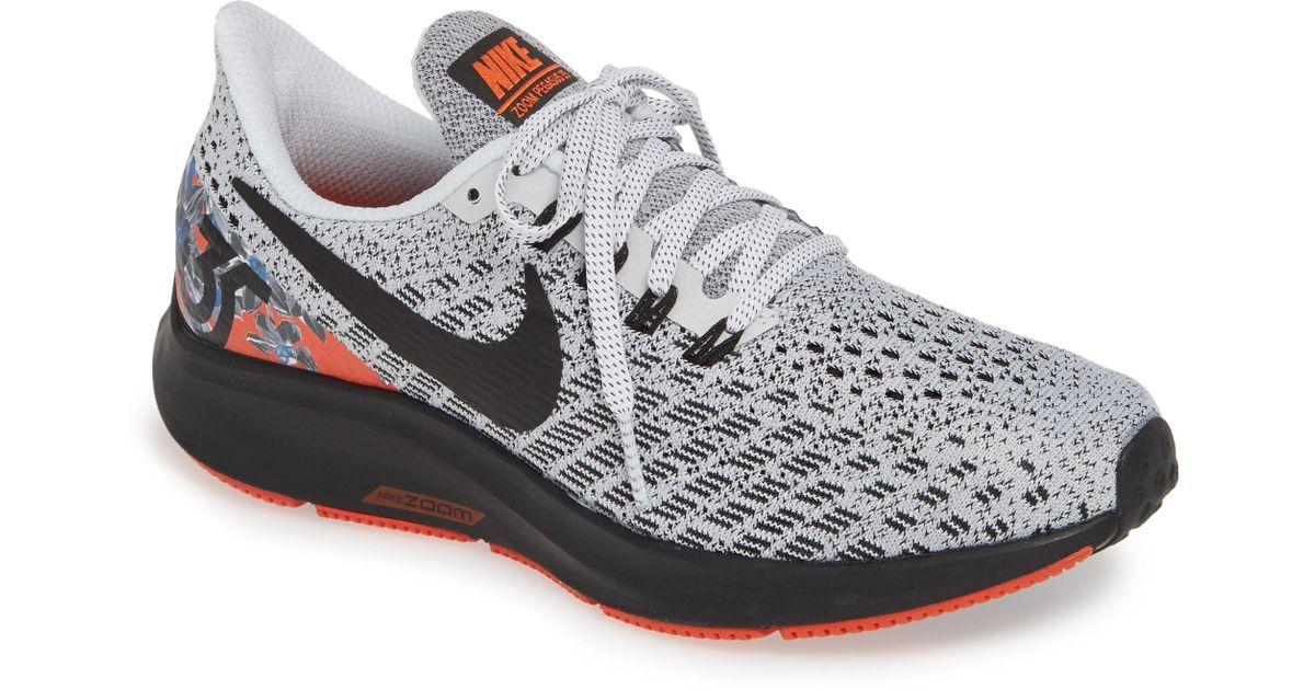 afa6cc9a4a828 Lyst - Nike Air Zoom Pegasus 35 Running Shoe in White