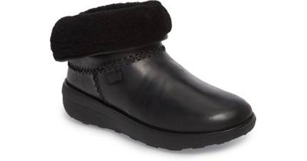 374f1426d9d Lyst - Fitflop Mukluk Shorty Ii Boot in Black