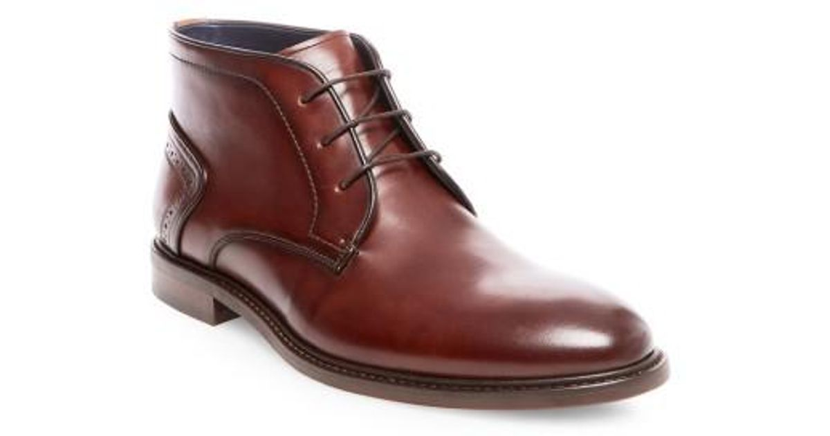 cfd6c27ac1f Steve Madden Bowen Chukka Boot in Brown for Men - Lyst