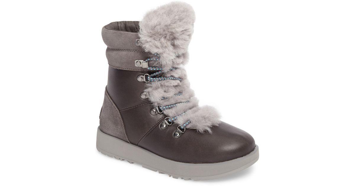 df529b9baef Ugg Gray Viki Waterproof Fashion Sneaker