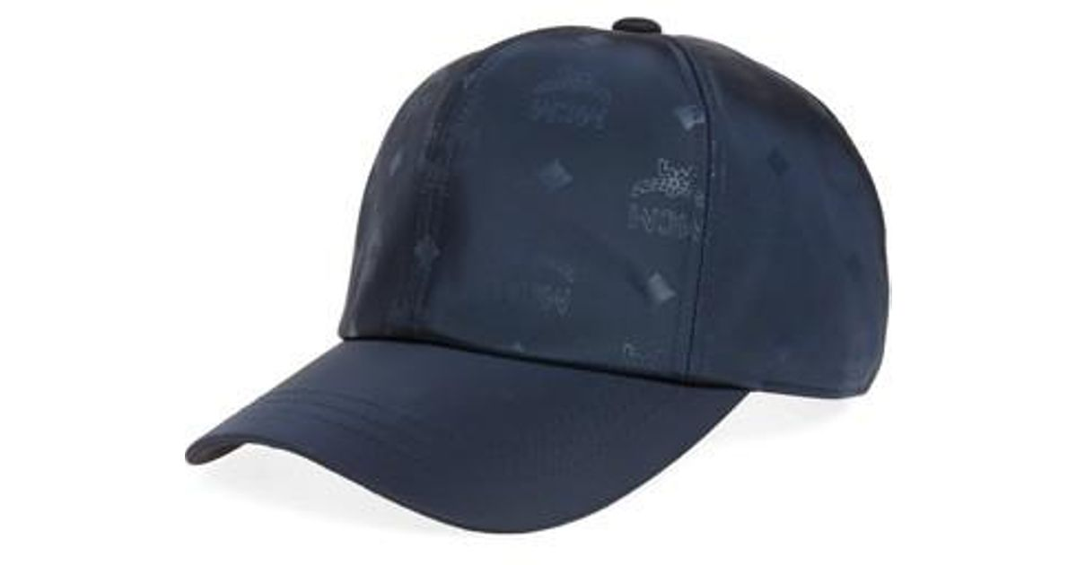 def55a765dc69 Lyst - MCM Baseball Cap in Blue for Men