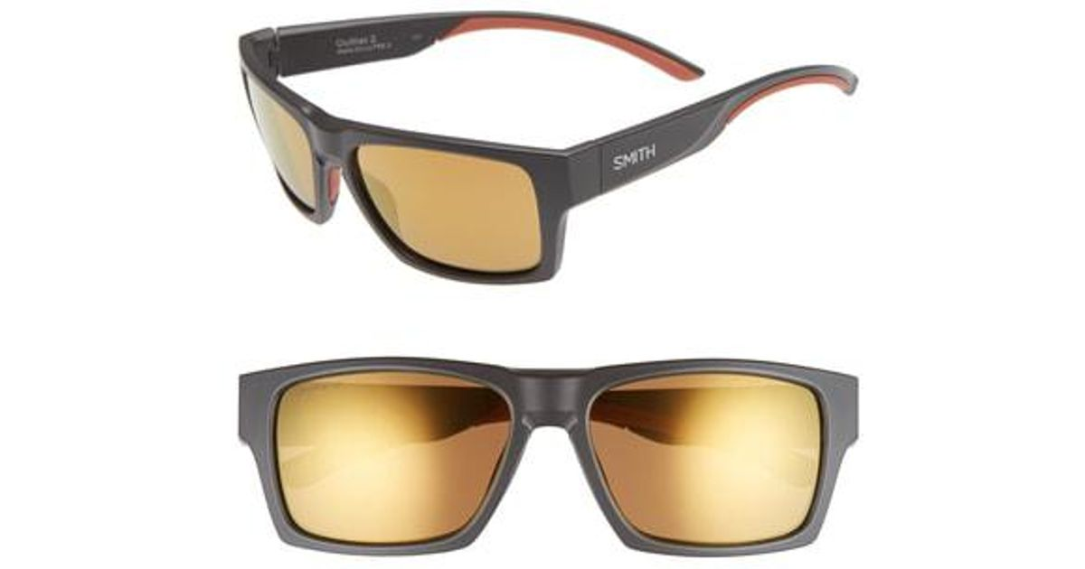 6f4ce44004 Lyst - Smith Outlier 2 57mm Polarized Square Sunglasses