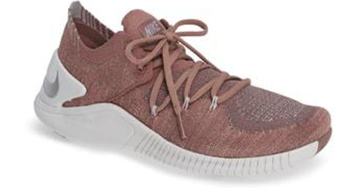 61703550a9903c Nike Free Tr Flyknit 3 Training Shoe - Lyst