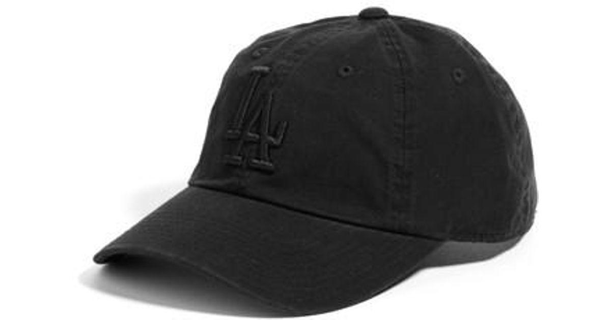ce61d6b0 American Needle Black Ballpark - Los Angeles Dodgers Baseball Cap -