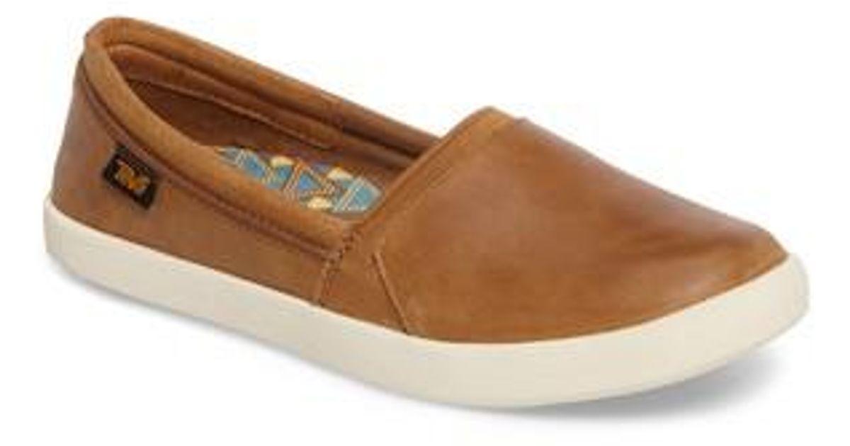 Teva Leather Willow Slip-on Sneaker in