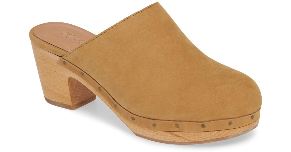 4495b8507147 Lyst - Madewell The Ayanna Clog in Brown