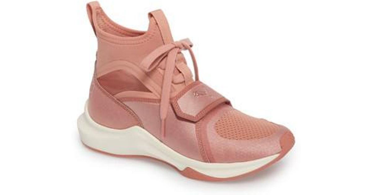 Lyst - PUMA Phenom High Top Training Shoe in Pink bec98e3d3