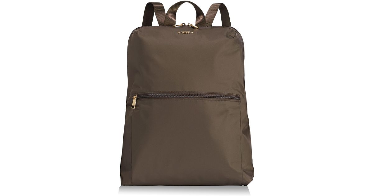 c1abb95e35 Lyst - Tumi Voyageur - Just In Case Nylon Travel Backpack in Brown