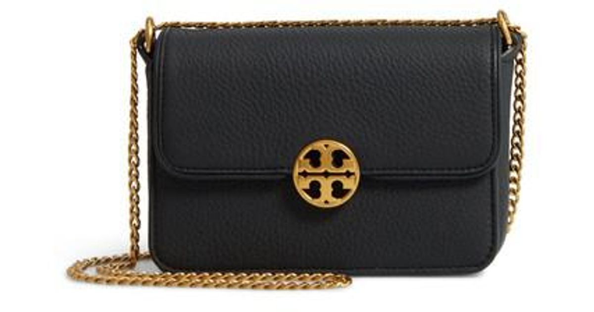 Lyst Tory Burch Mini Chelsea Leather Convertible