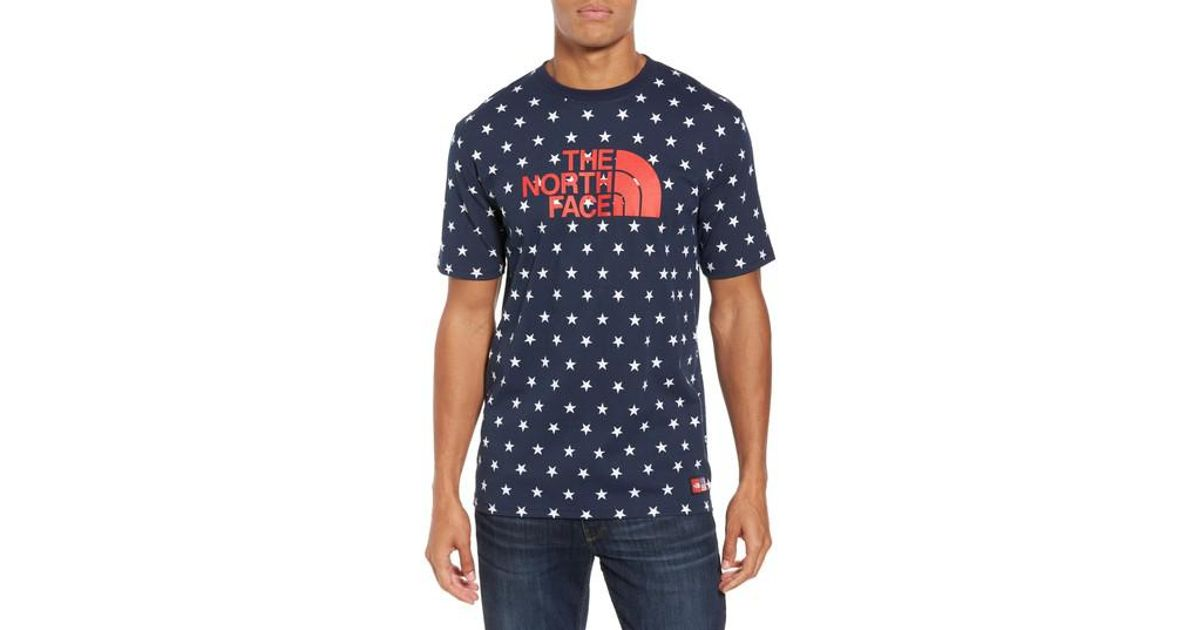 Lyst the north face international collection star print for International collection