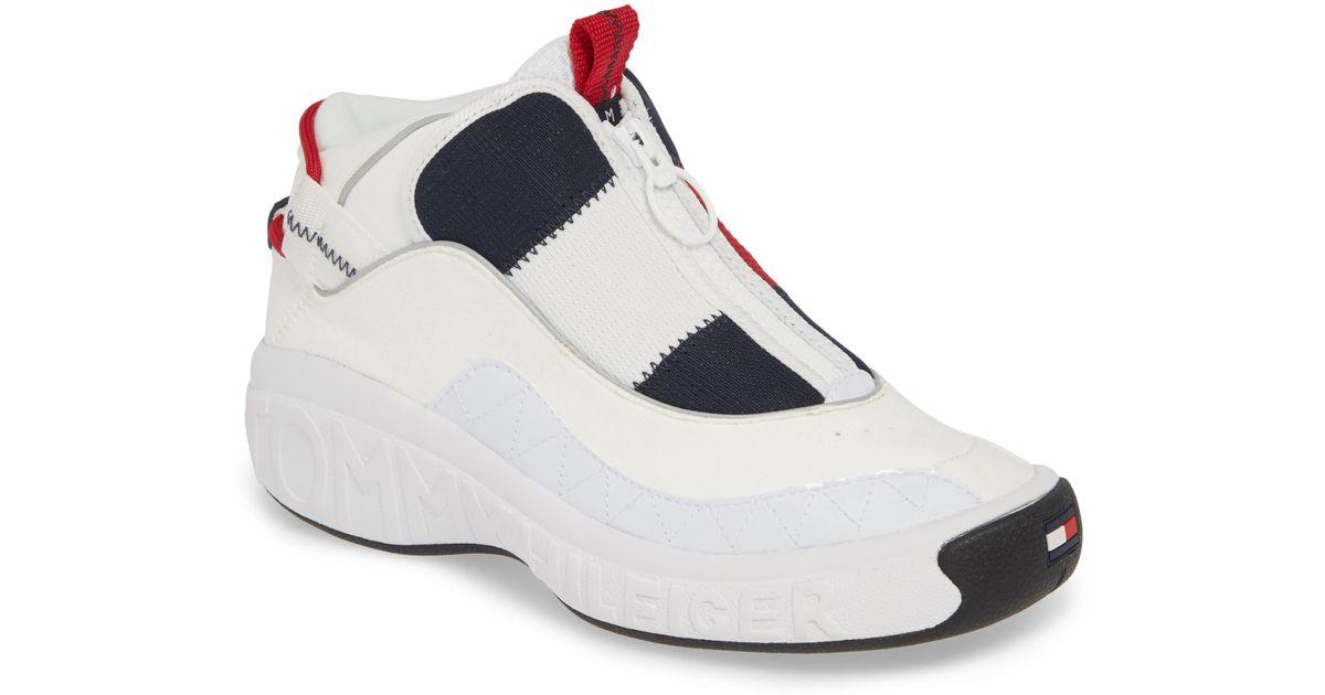 Tommy Hilfiger Icon Zip Sneaker in Blue