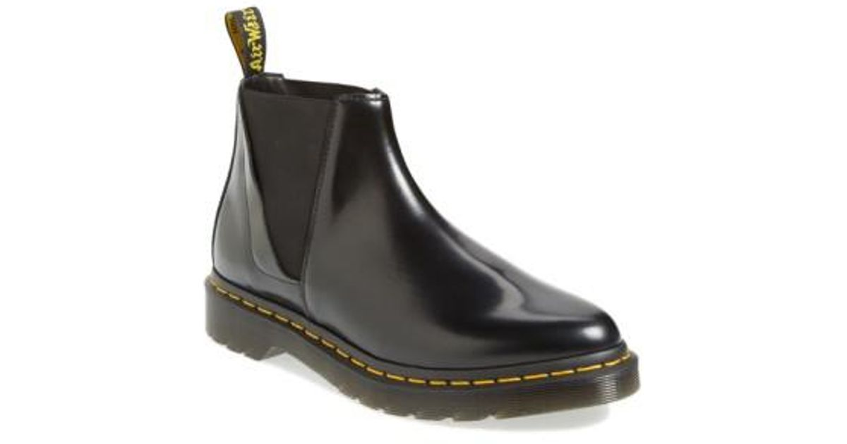 attraktive Mode harmonische Farben neueste Kollektion Dr. Martens Black 'bianca' Chelsea Boot