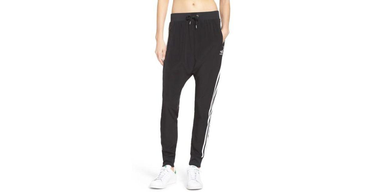 adidas 3-stripes Harem Pants in Black