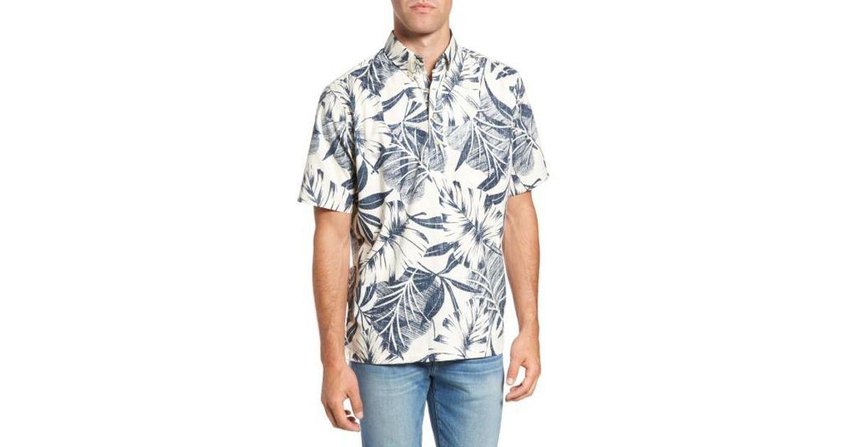 402dd77aa6a Lyst - Reyn Spooner Kaha Lau Classic Fit Sport Shirt in Natural for Men