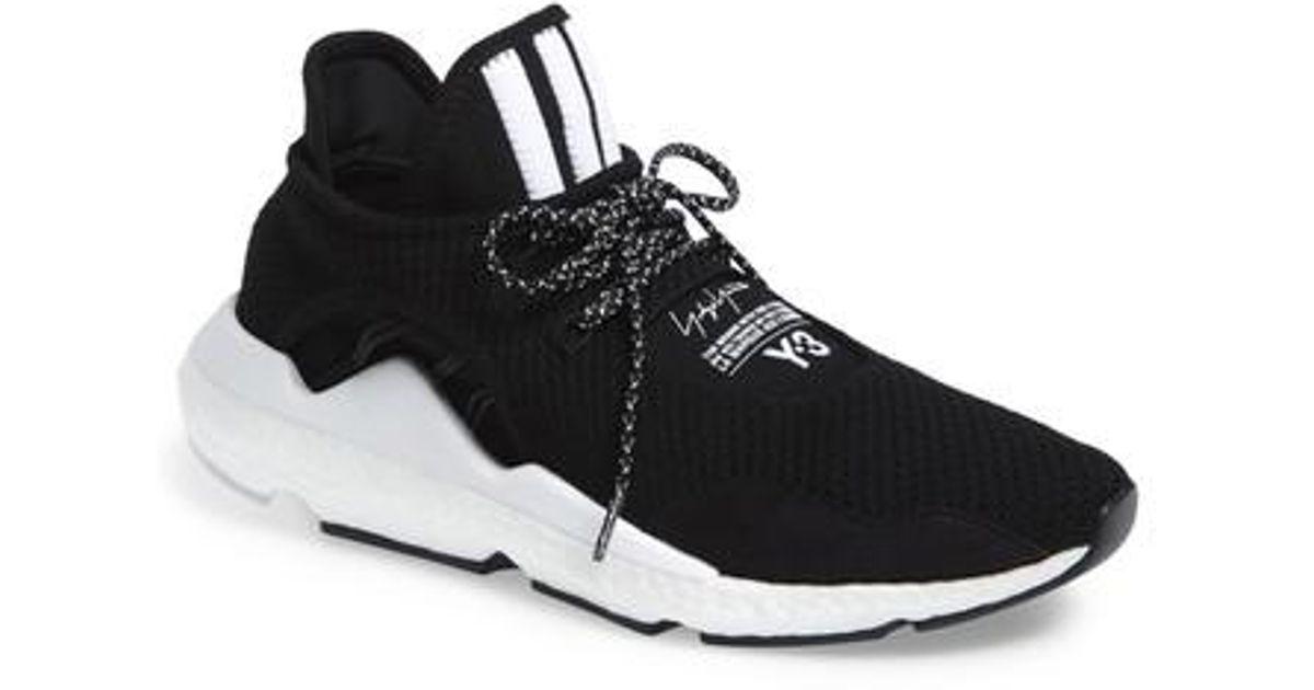 Y-3 Saikou Boost Sneaker in Black