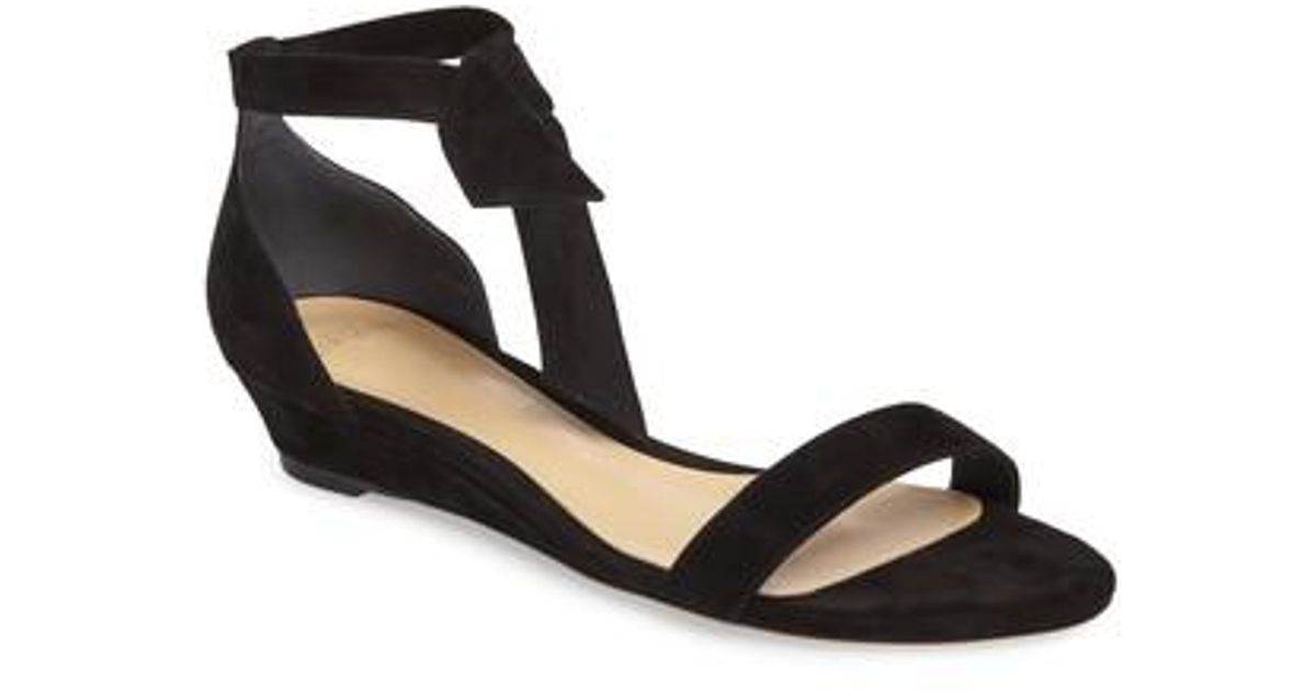 Alexandre Birman Patent Leather Wedge Sandals cheap sale pay with paypal sale get authentic xPxB4x