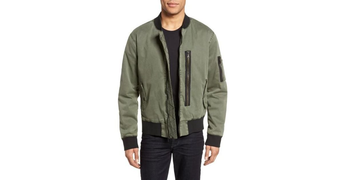 dee876261 Hudson Green Knox Twill Bomber Jacket for men