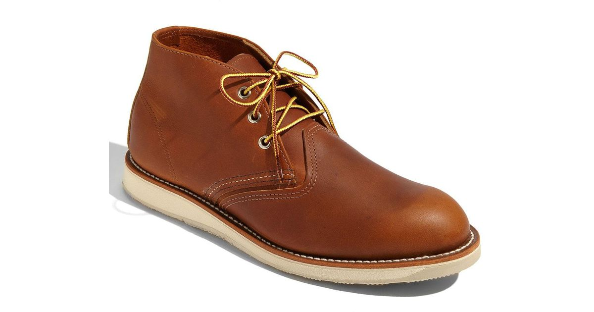 06bf2b3ac58 Red Wing Brown 3139 Chukka Boot for men