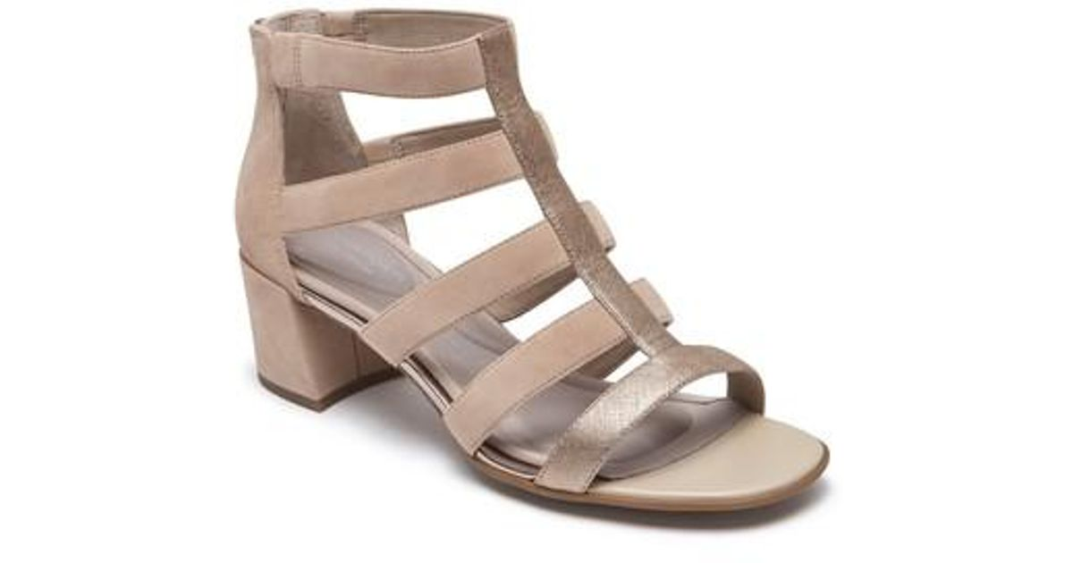 Rockport Women's Total Motion Alaina Luxe Cage Sandal ZX9f4