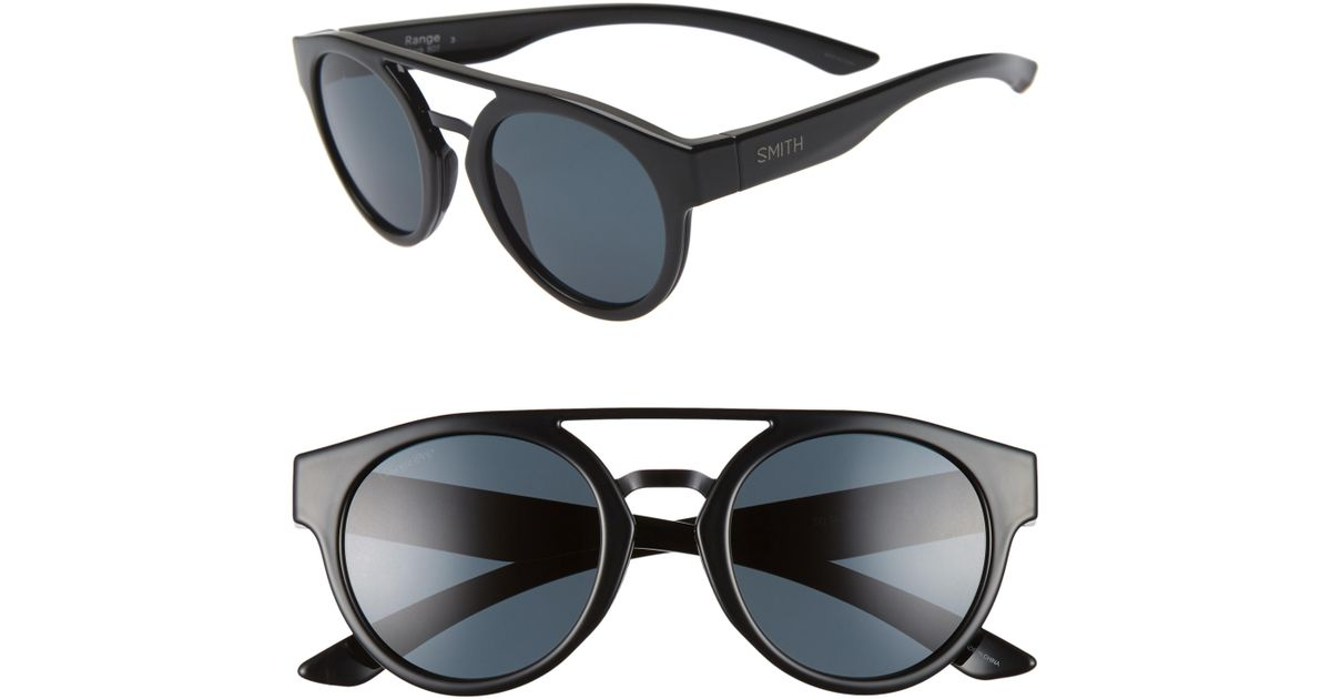 2c504120b74 Lyst - Smith Range 50mm Chromapop(tm) Polarized Sunglasses - Chocolate  Tortoise  Blue in Blue