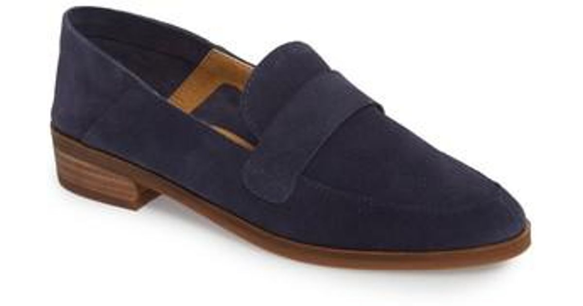 208d967e13f Lyst - Lucky Brand Chennie Loafer in Blue