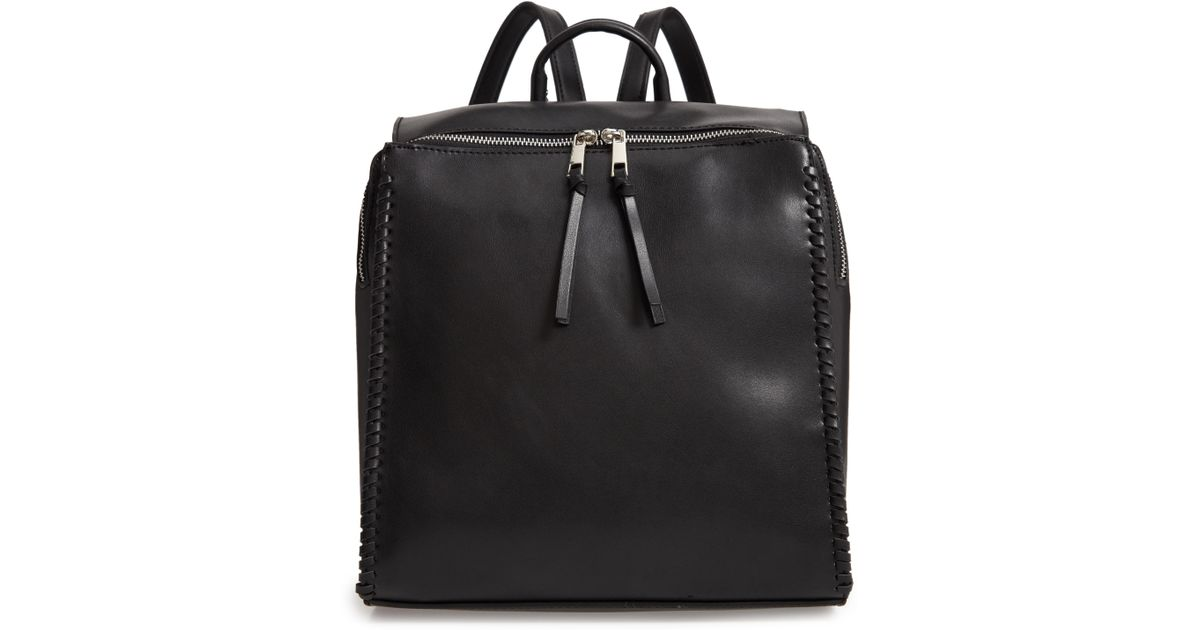 4549935978f4 Lyst - BP. Whipstitch Faux Leather Square Backpack in Black