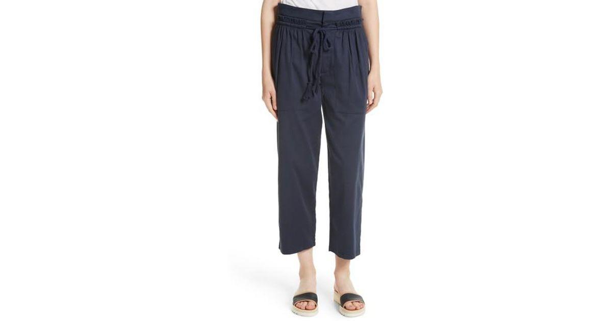 Pants Trim By Chloe Ruffle Drawstring Blue Ver V8yw0onnm 6g7yvbYfI