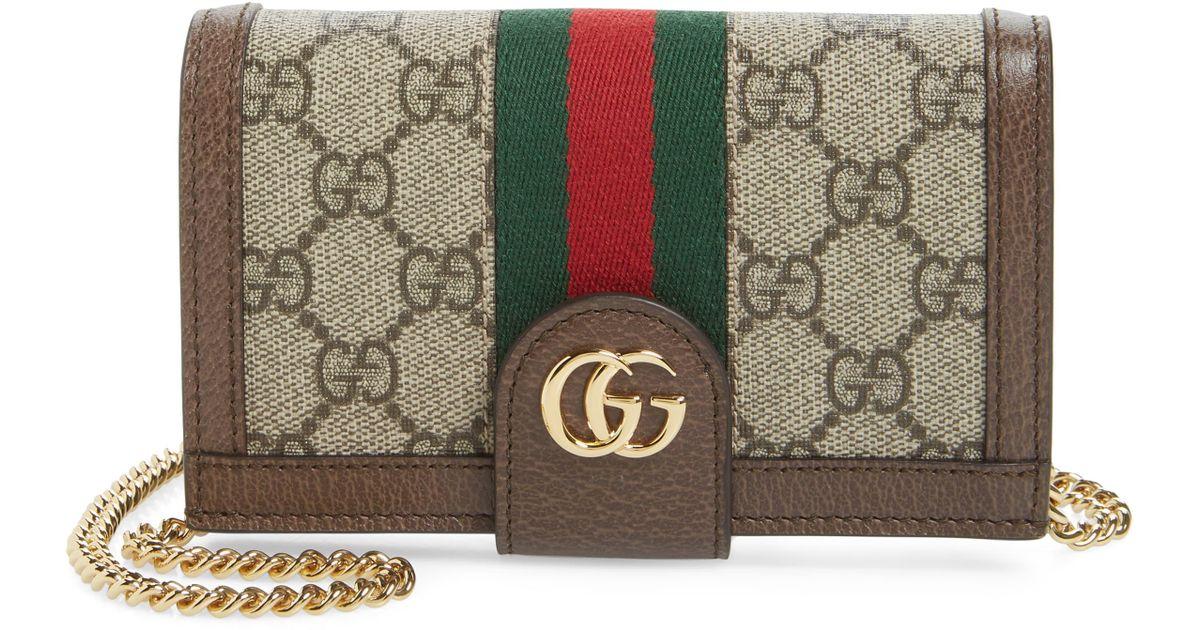 cheaper b9308 4de51 Gucci Multicolor Ophidia Iphone X Folio Crossbody