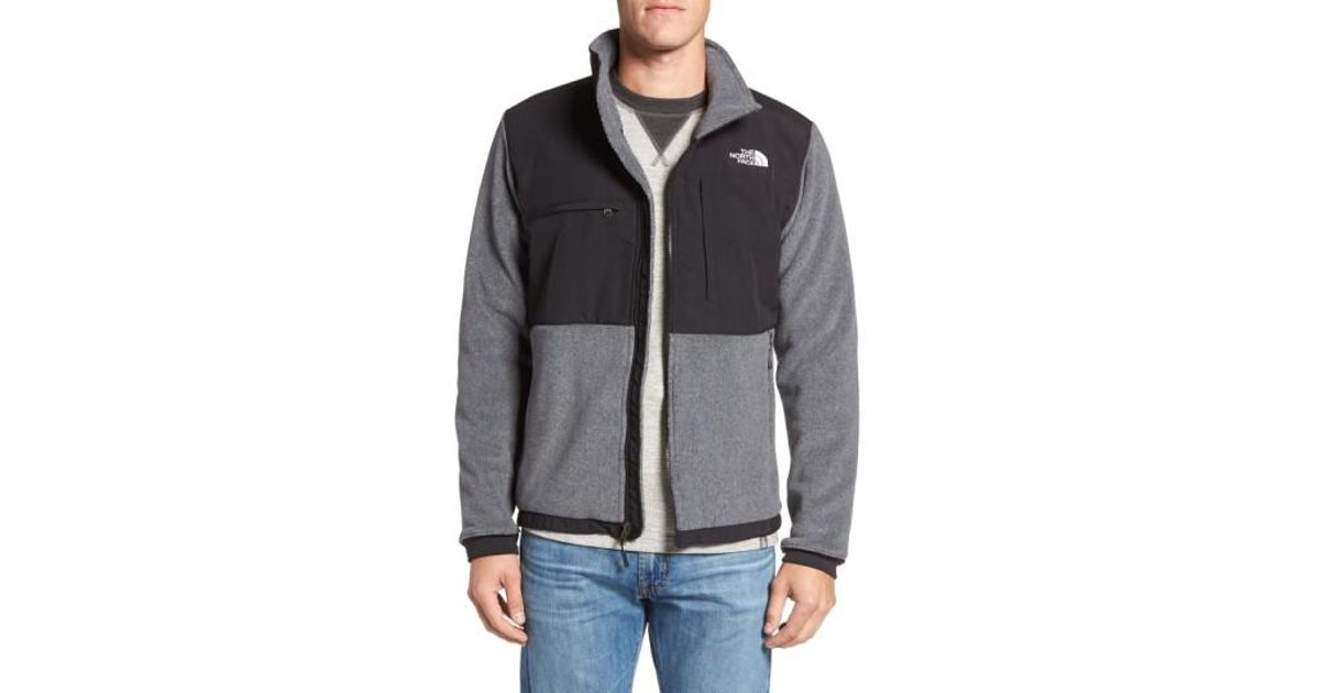 97d00014b4e9 Lyst - The North Face Denali 2 Recycled Fleece Jacket in Gray for Men